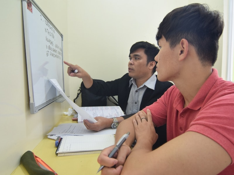 học tiếng anh tại philippines